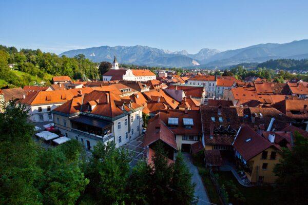 Kamnik, Slovinsko. Foto: Jošt Gantar