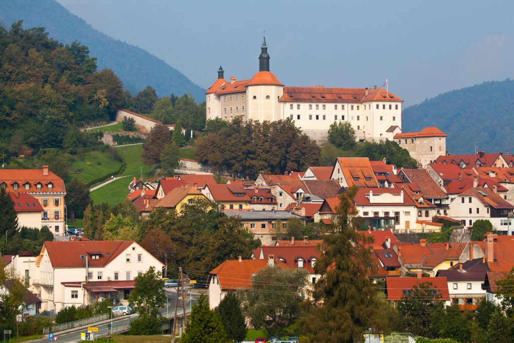 Škofja Loka, Slovinsko. Foto: Jošt Gantar