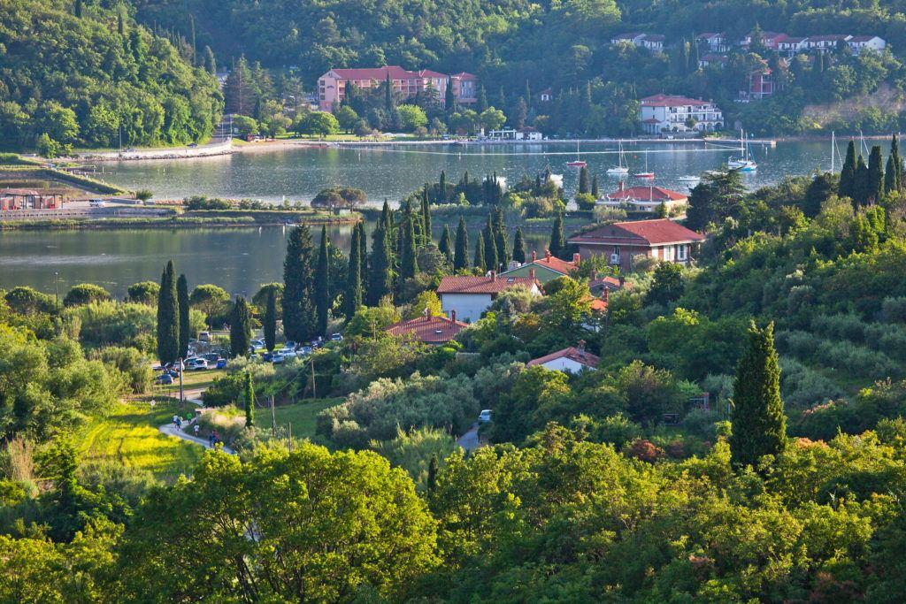 Strunjan, Přímoří, Slovinsko. Foto: Jošt Gantar