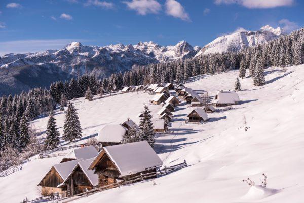 Pokljuka, Julské Alpy, Slovinsko. Foto: Iztok Medja