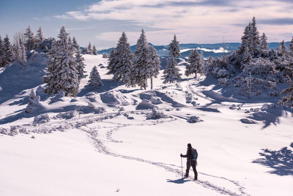 Velika Planina, Kamnicko-Savinjské Alpy, Slovinsko