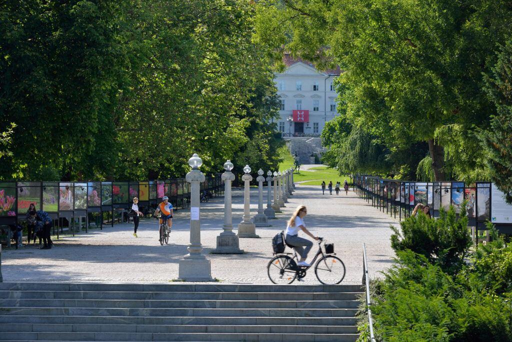 Tivoli park, Jože Plečnik, Lublaň, Slovinsko. Foto: Miran Kambic