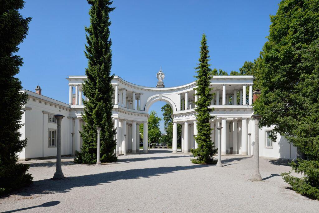 Hřbitov Žale, Jože Plečnik, Lublaň, Slovinsko. Foto: Miran Kambic