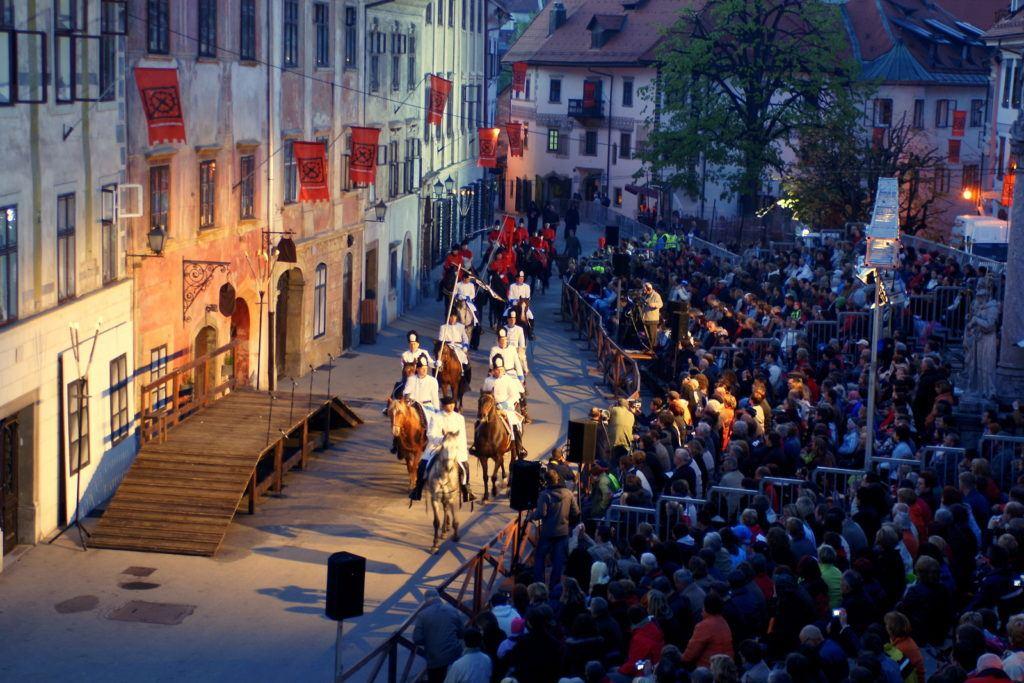 Škofjeloški pasijon, Škofja Loka, Slovinsko. Foto: Jure Nastran