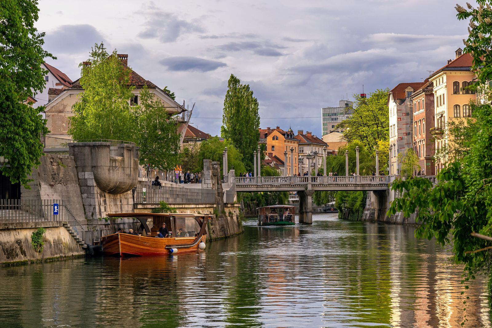 Lublaň, Slovinsko. Foto: Andrej Tarfila