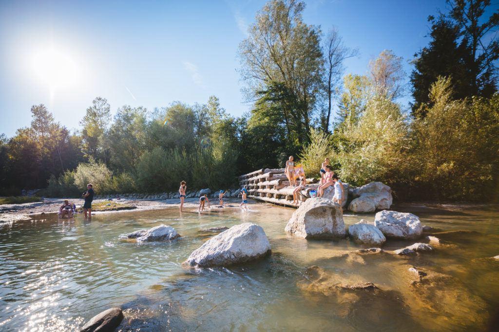 Kemp Menina, Savinjské údolí, Slovinsko