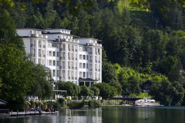 Grand Hotel Toplice, Bled, Slovinsko