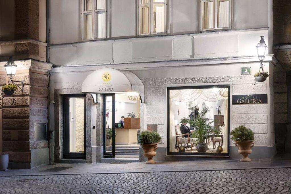 Hotel Galleria, Lublaň, Slovinsko