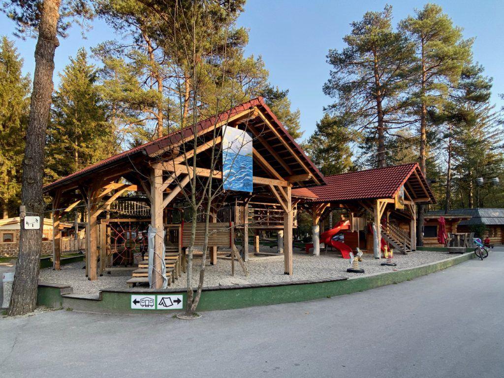 Kemp Menina, Savinjská dolina, Slovinsko