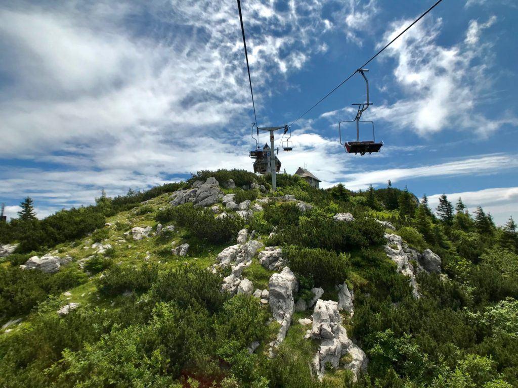 Lanovka na Velikou Planinu, Kamnicko-Savinjské Alpy, Slovinsko