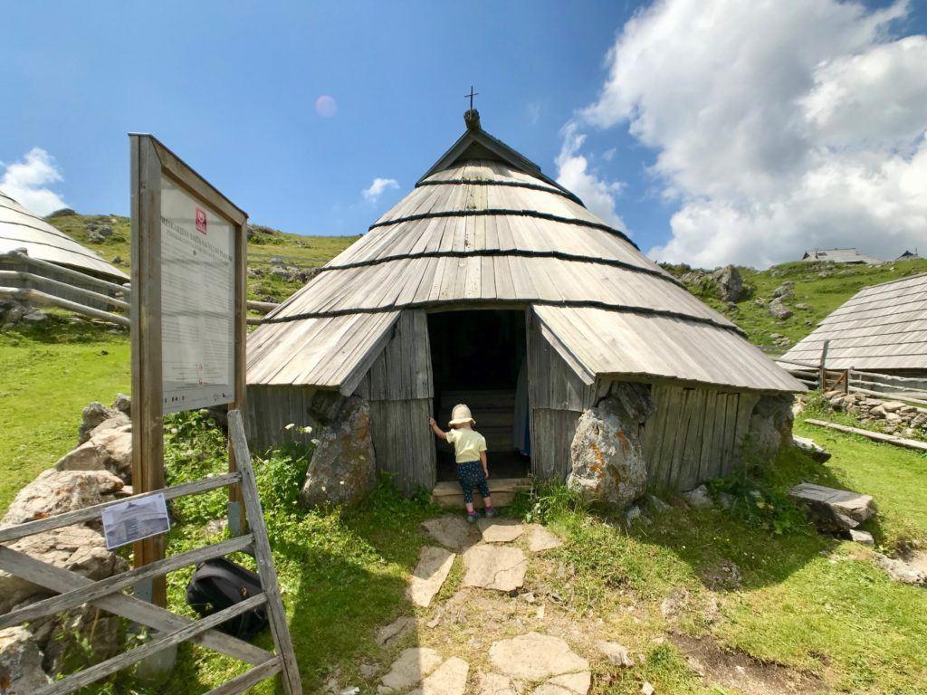 Preskarjev pastirski muzej, Velika Planina, Slovinsko