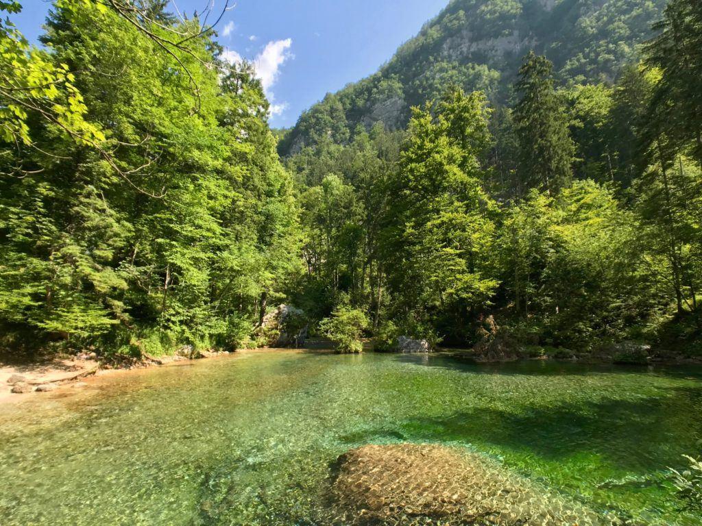 Kamniška Bistrica, Kamnicko-Savinjské Alpy, Slovinsko