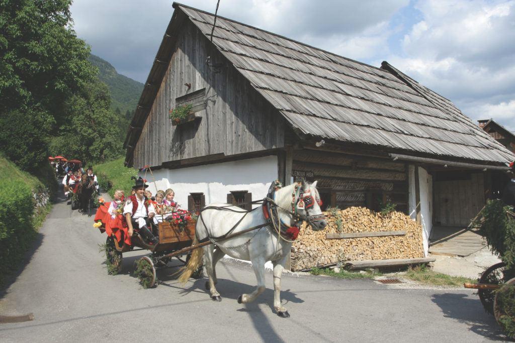 Oplenova hiša, Bohinj, Slovinsko