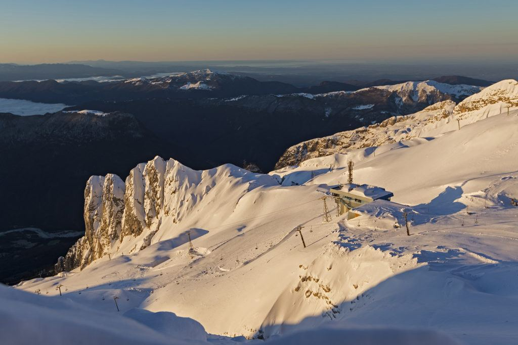 Skiareál Kanin-Sella Nevea, Julské Alpy, Slovinsko, Foto: Katja Pokorn