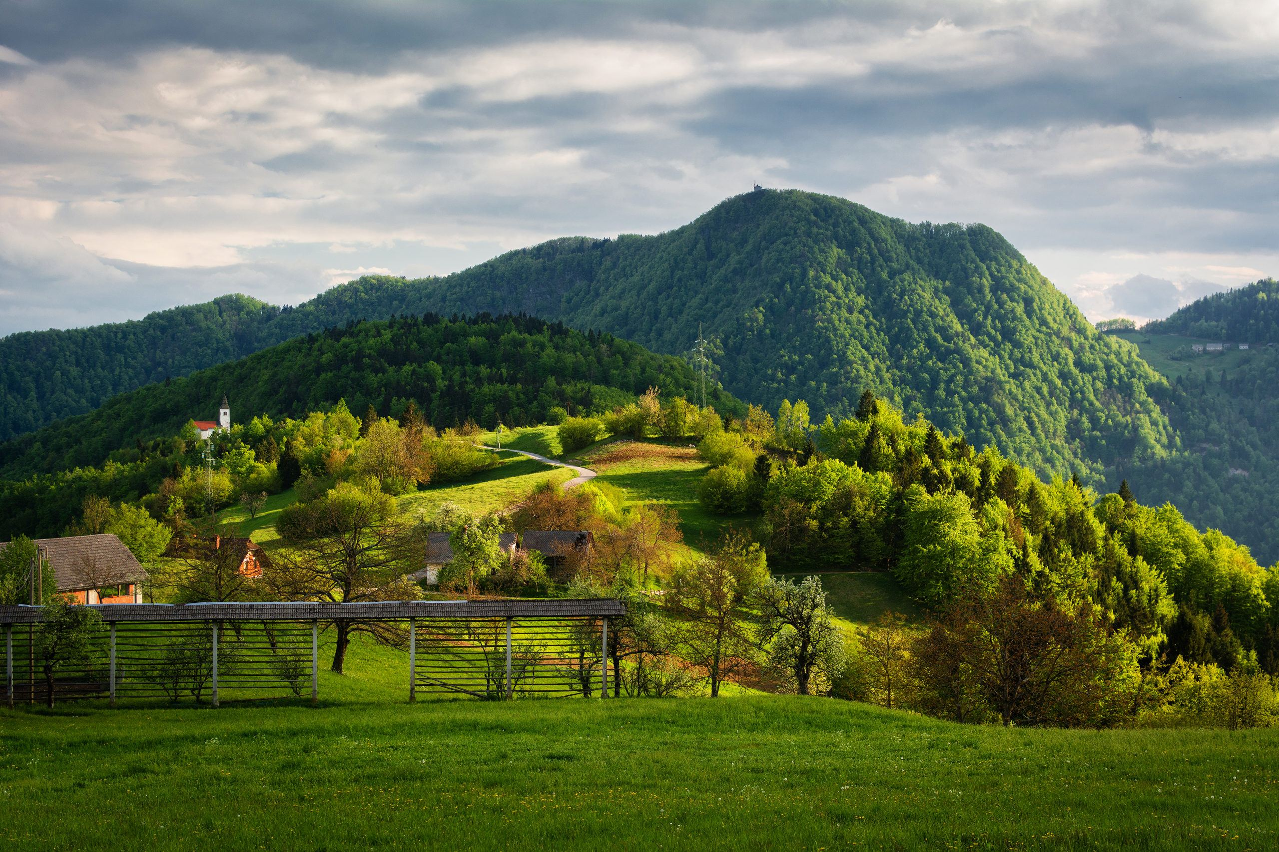 Lubnik, Slovinsko. Foto: Sašo Kočevar