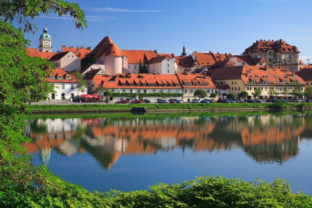 Maribor, Slovinsko. Foto: Matej Vranič, STO