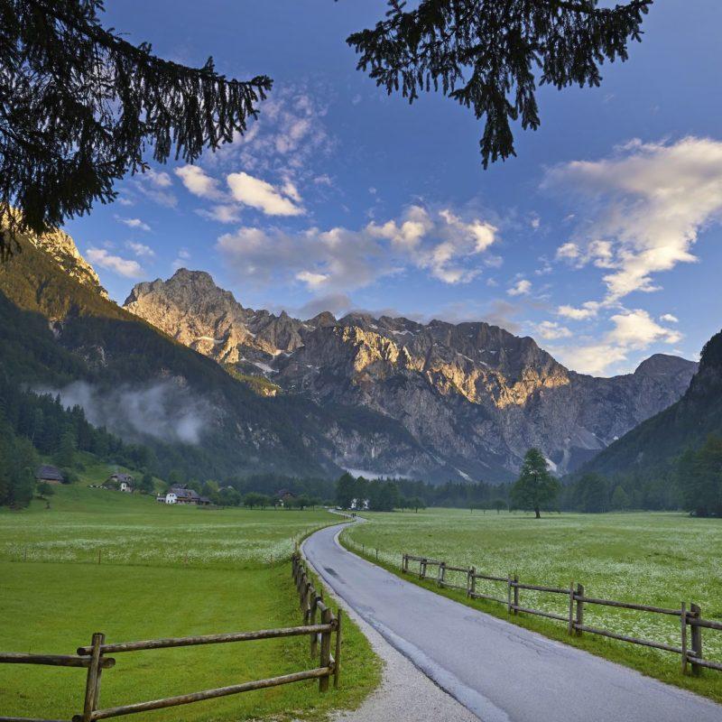 Logarska dolina, Kamnicko-Savinjské Alpy, Slovinsko