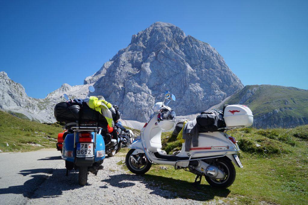Mangart, Julské Alpy, Slovinsko. Foto: Karolína Hornová