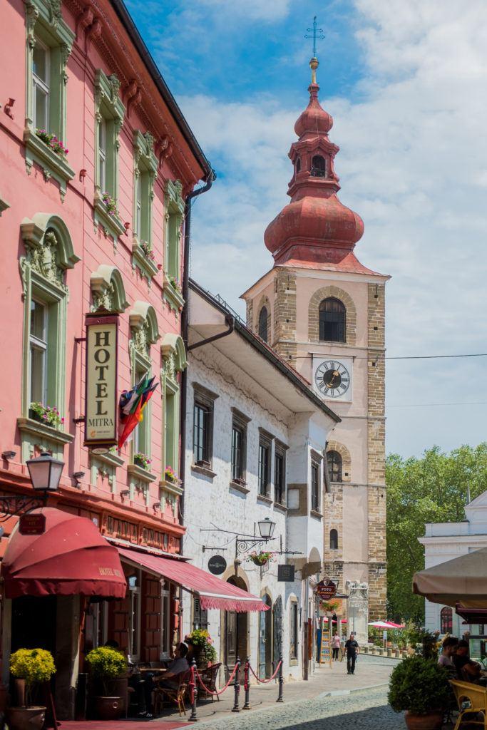 Centrum Ptuje, Slovinsko. Foto: Mankica Kranjec, Turizem Ptuj