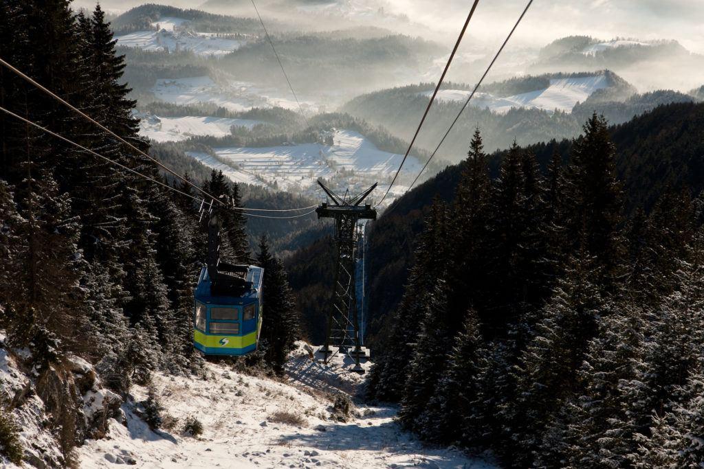Skiareál Golte, Slovinsko, Foto: Golte
