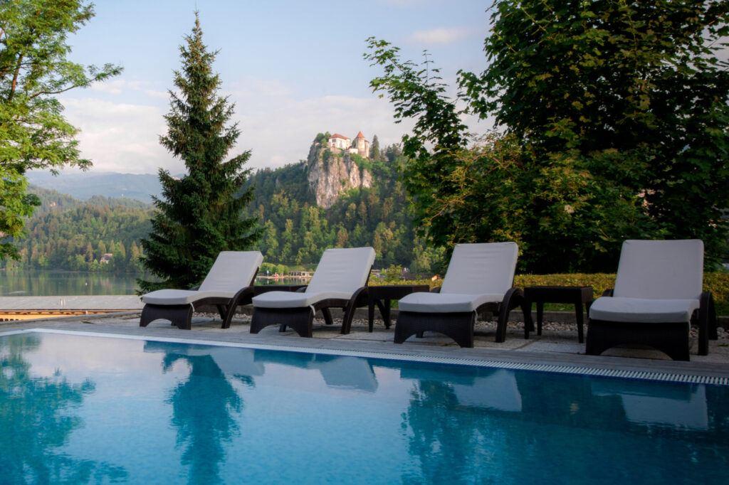 Rikli Balance Hotel, Bled, Slovinsko