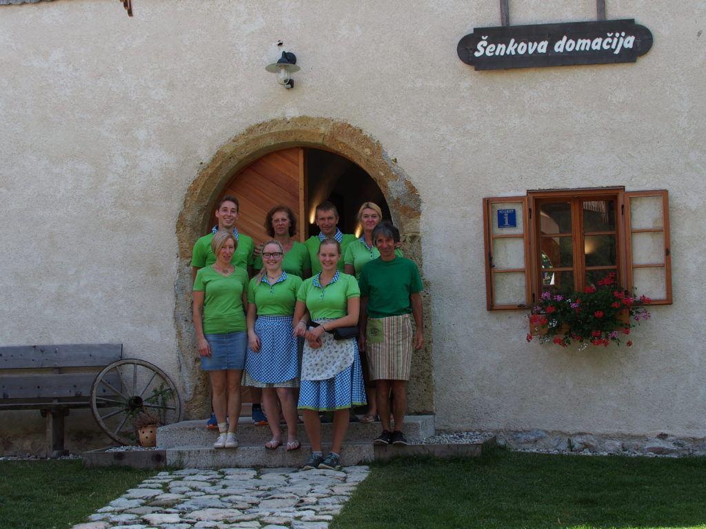 RŠenkova domačija, Jezersko, Slovinsko. Foto: Šenkova domačija