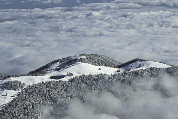 Skiareál Golte, Slovinsko. Foto: Golte