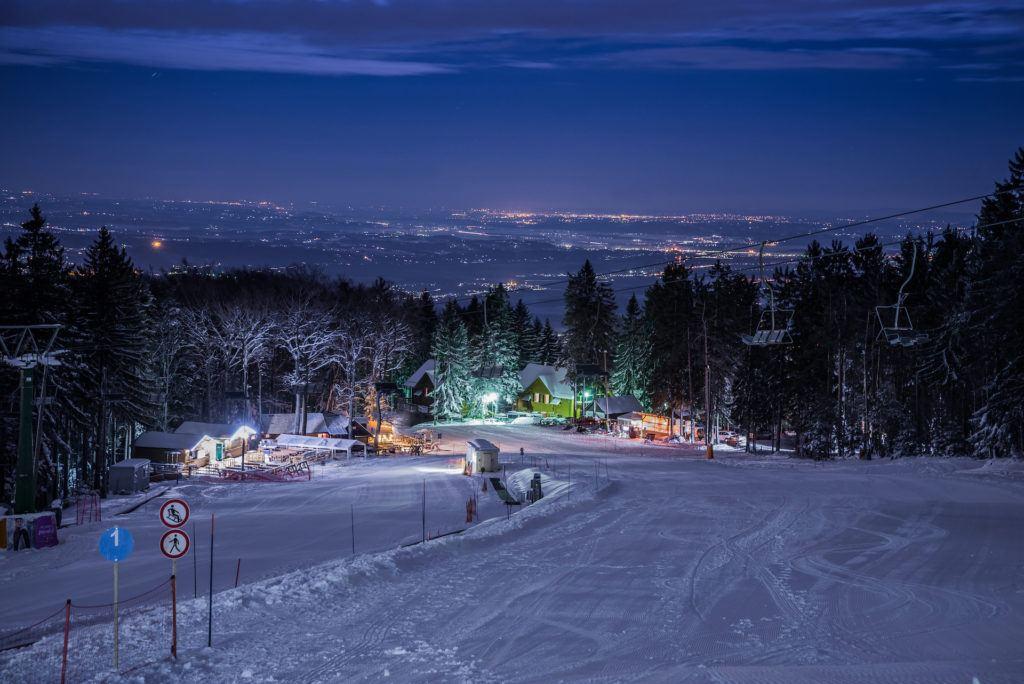 Skiareál Mariborsko Pohorje, Slovinsko. Foto: Uroš Leva, www.visitmaribor.si