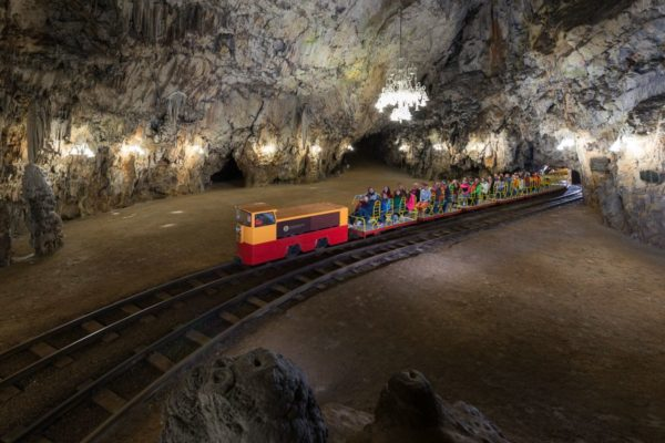 Postojna jeskyně, Slovinsko, Foto: Postojnska jama