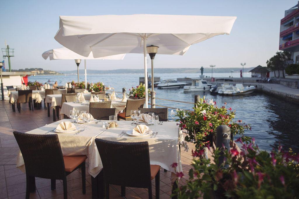 Restaurace Barka, Portorož, Slovinsko