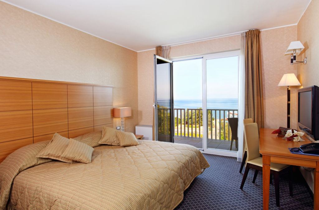 Hotel Mirta, Izola, Slovinsko. Foto: Hoteli Bernardin