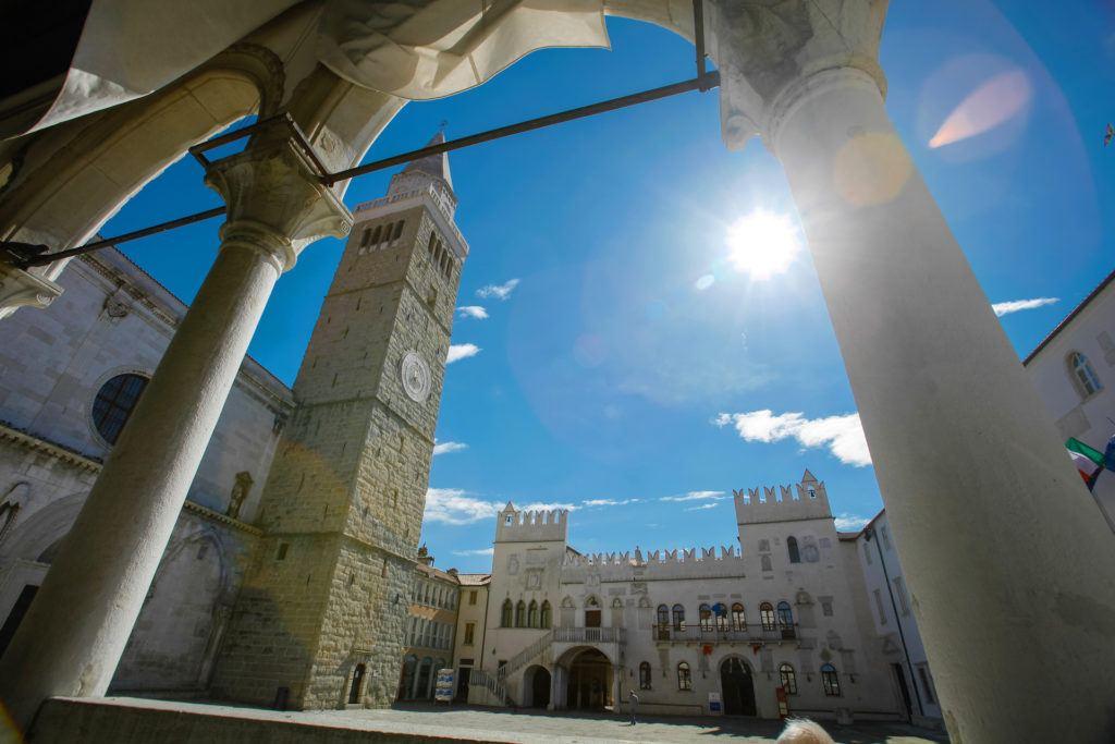 Pretoriánský palác, Koper, Slovinsko. Foto: Tadej Bernik