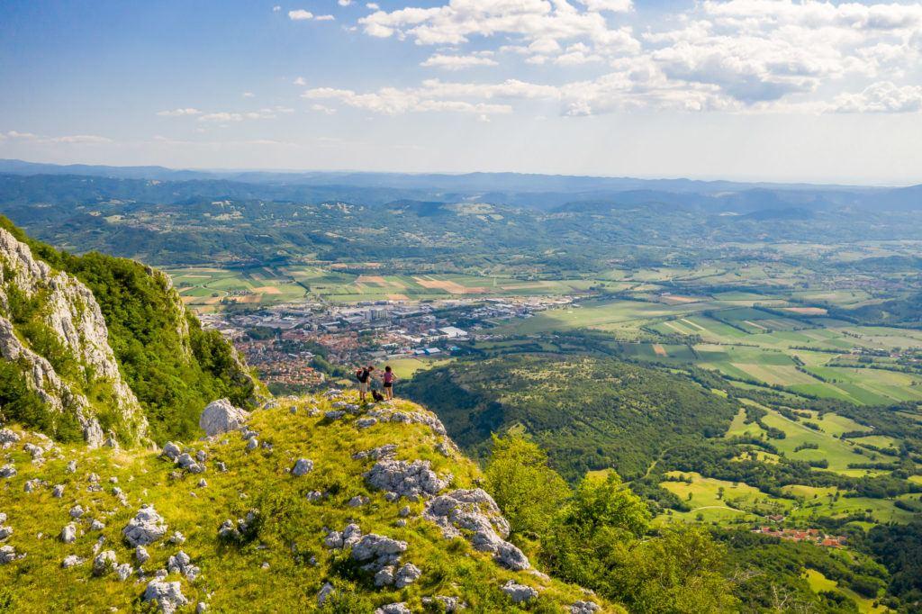 Panorama, Vipavska dolina, Slovinsko. Foto: Uroš Rojc