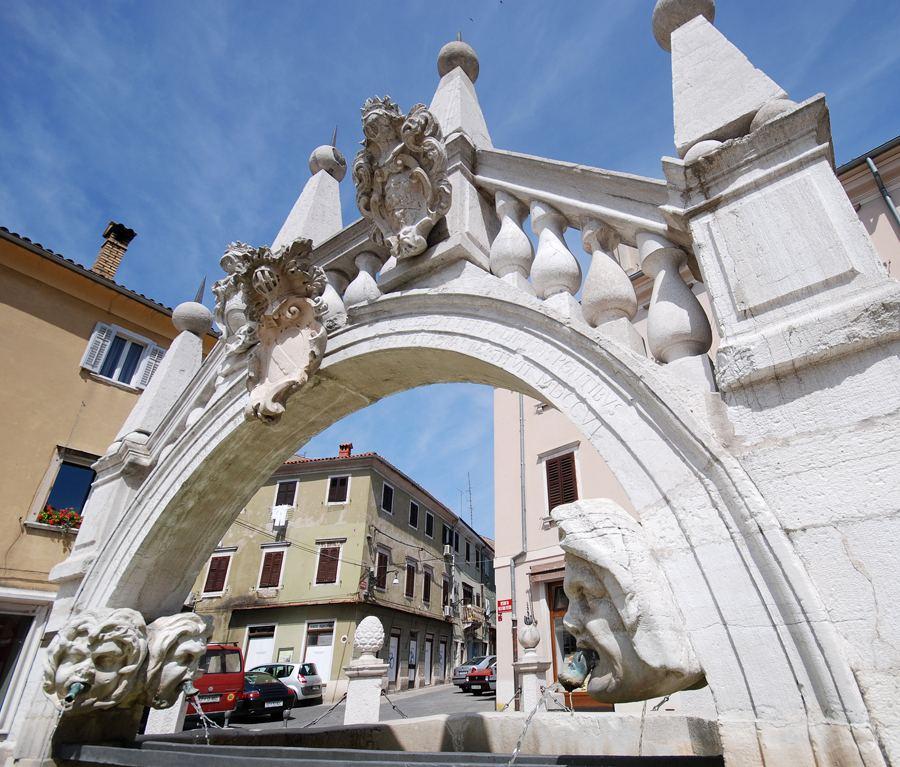 Prešernovo náměstí, Koper, Slovinsko. Foto: Ubald Trnkoczy