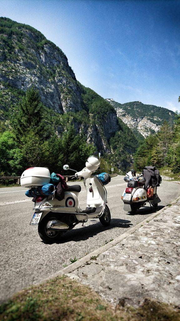 Vršič, Julské Alpy, Slovinsko. Foto: Karolína Hornová