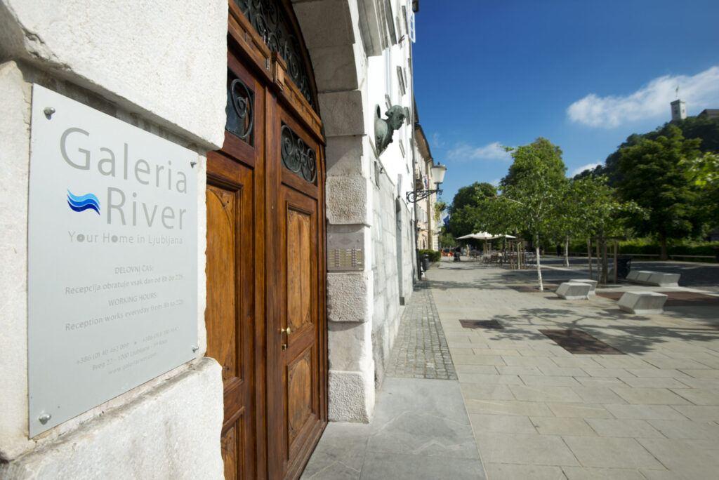 Pokoje Galeria River, Lublaň, Slovinsko
