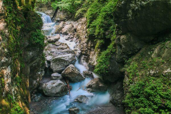 Tolminska korita, Slovinsko