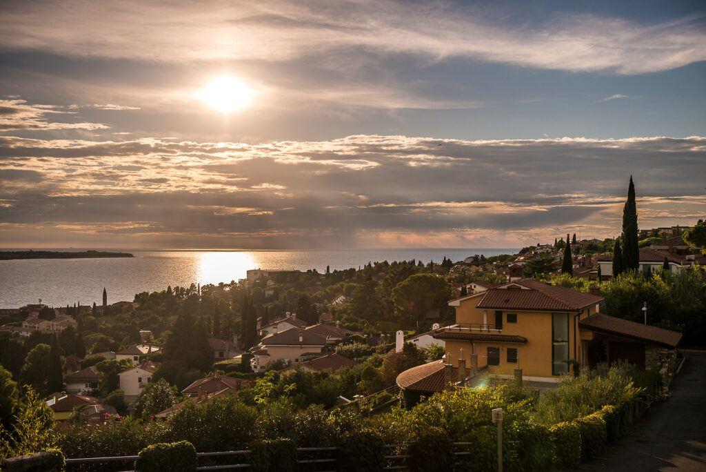 Portorož, moře, Slovinsko