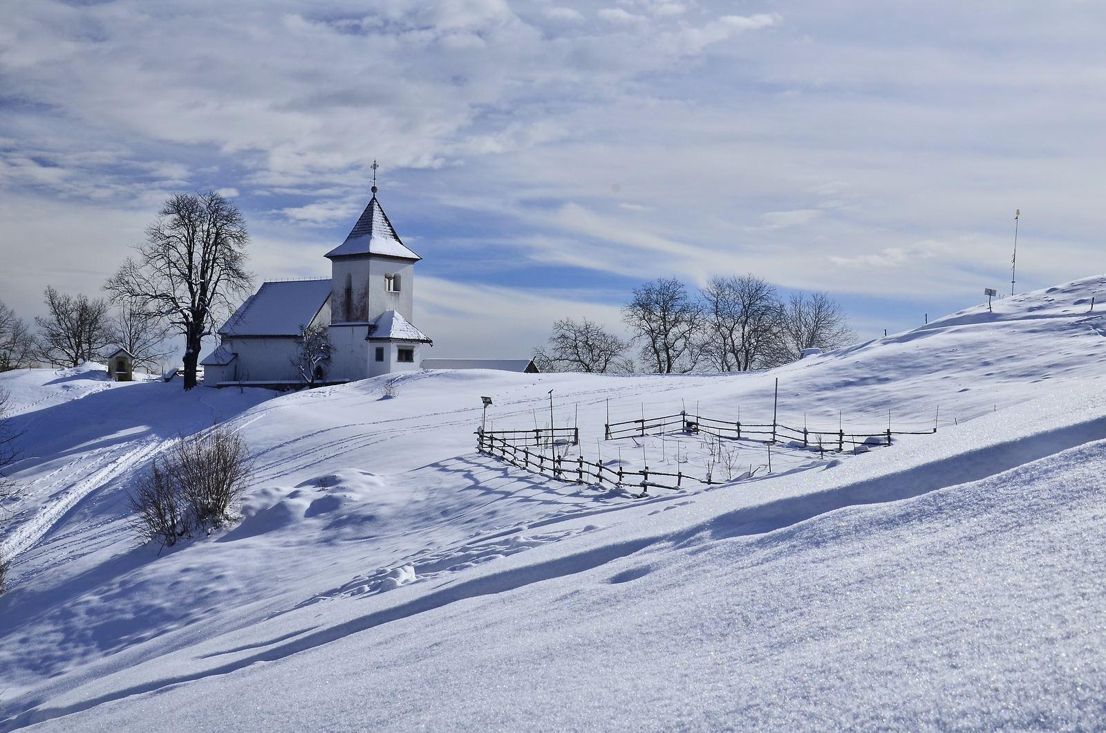 Kostel Sveti Peter nad Begunjami, Slovinsko