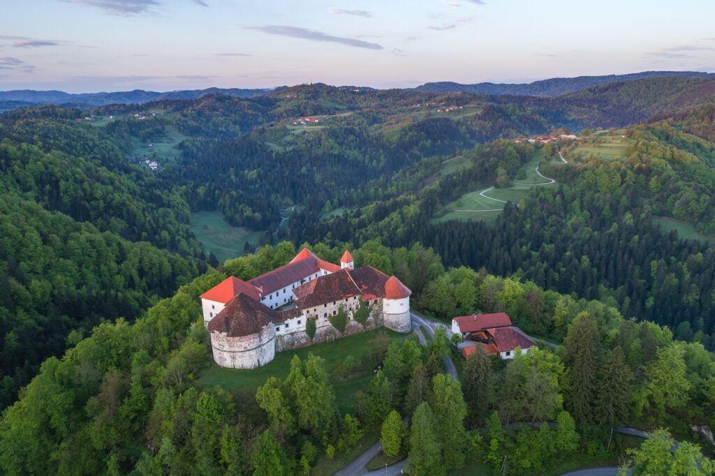 Hrad Turjak, Slovinsko