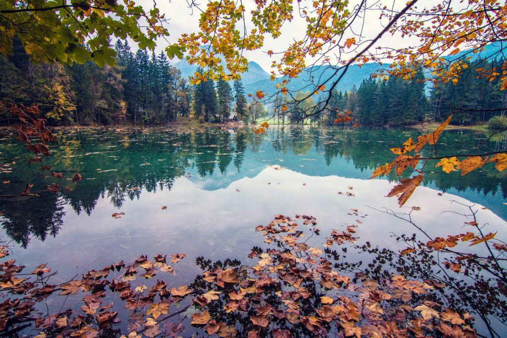 Planšarsko jezero, Jezersko, Slovinsko. Foto: TIC Jezersko