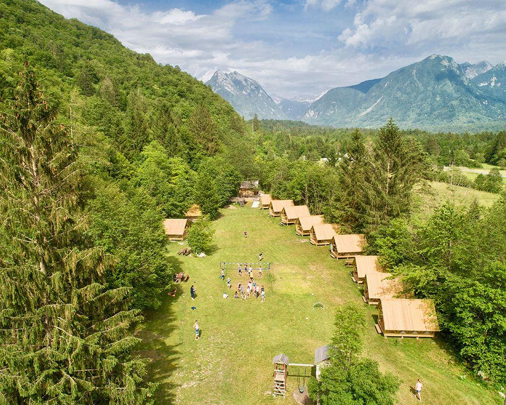 Eko plac, Bohinj, Slovinsko