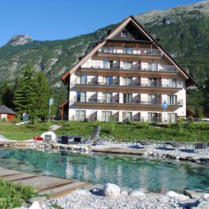 Hotel Mangart, Bovec, Slovinsko