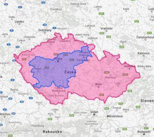 Rozloha Slovinska