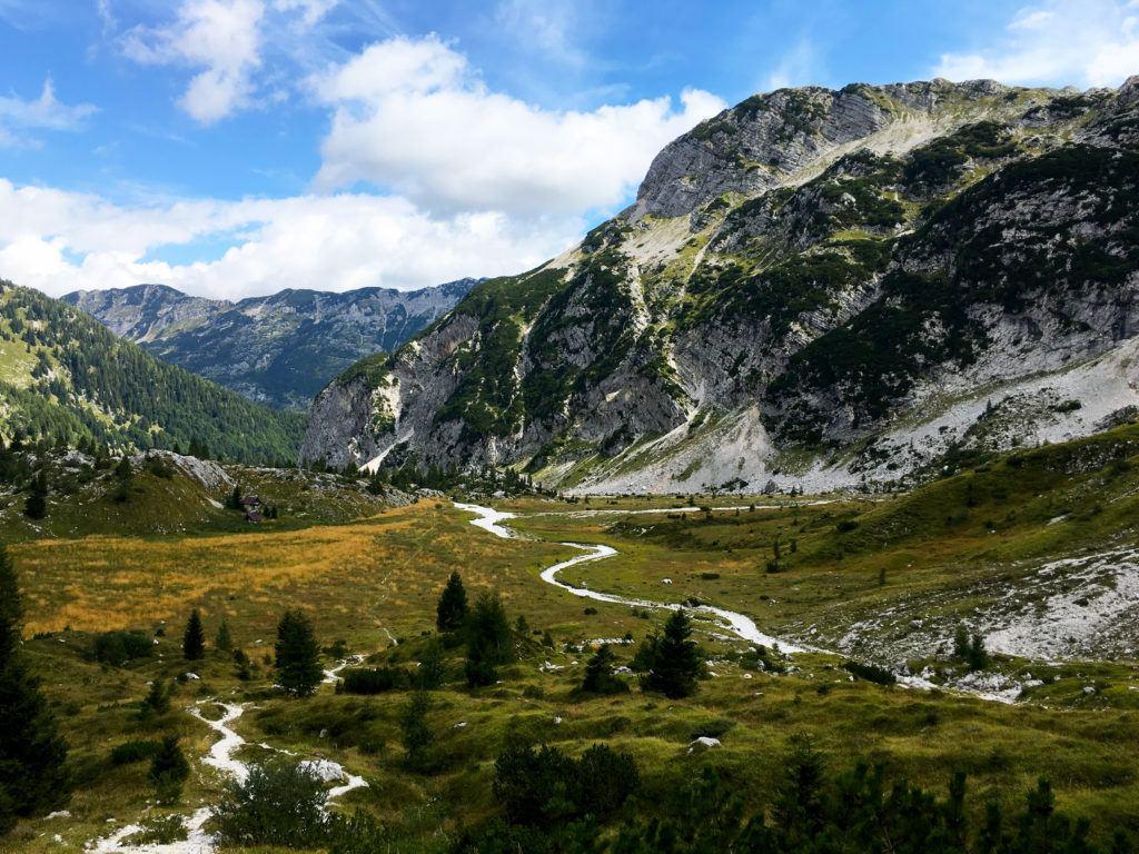 Krn, Julské Alpy, Slovinsko. Foto: Iva Bartáková