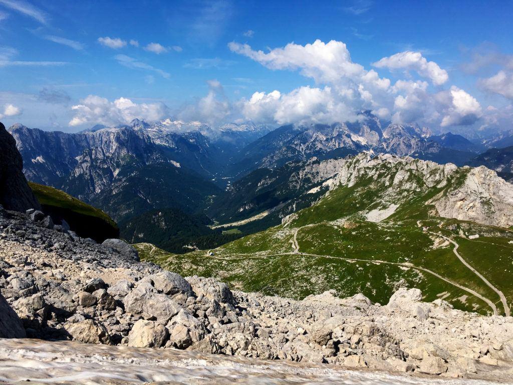 Mangart, Julské Alpy, Slovinsko. Foto: Iva Bartáková