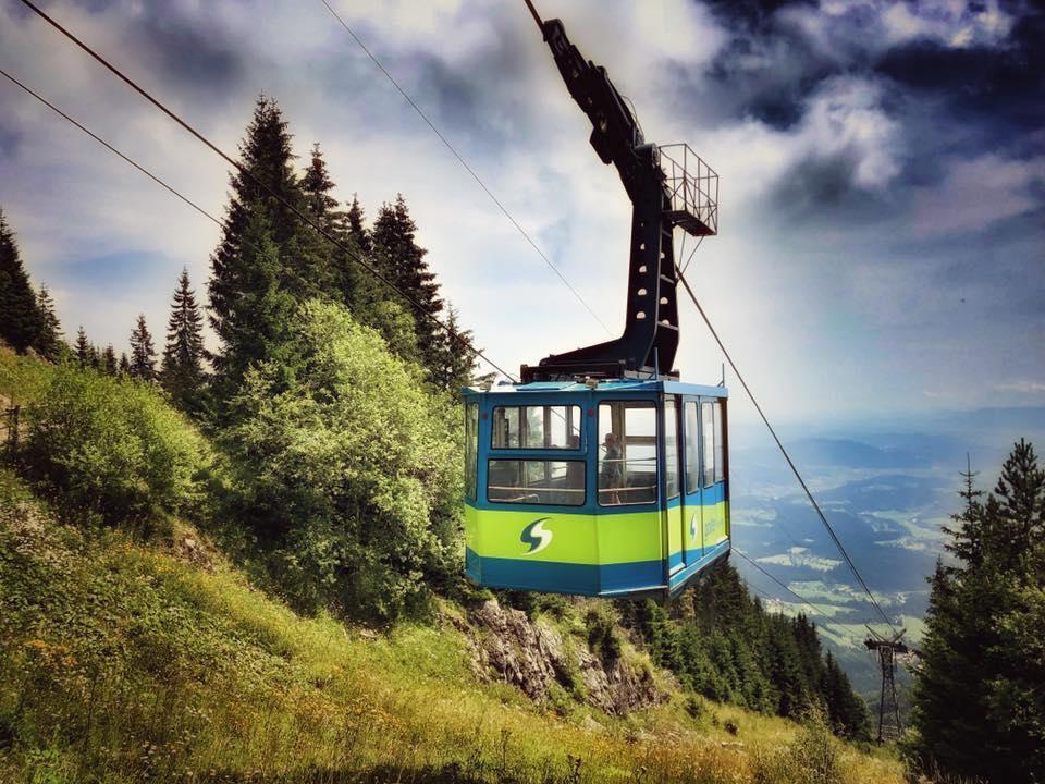 Lanovka Golte, Kamnicko-Savinjské Alpy, Slovinsko