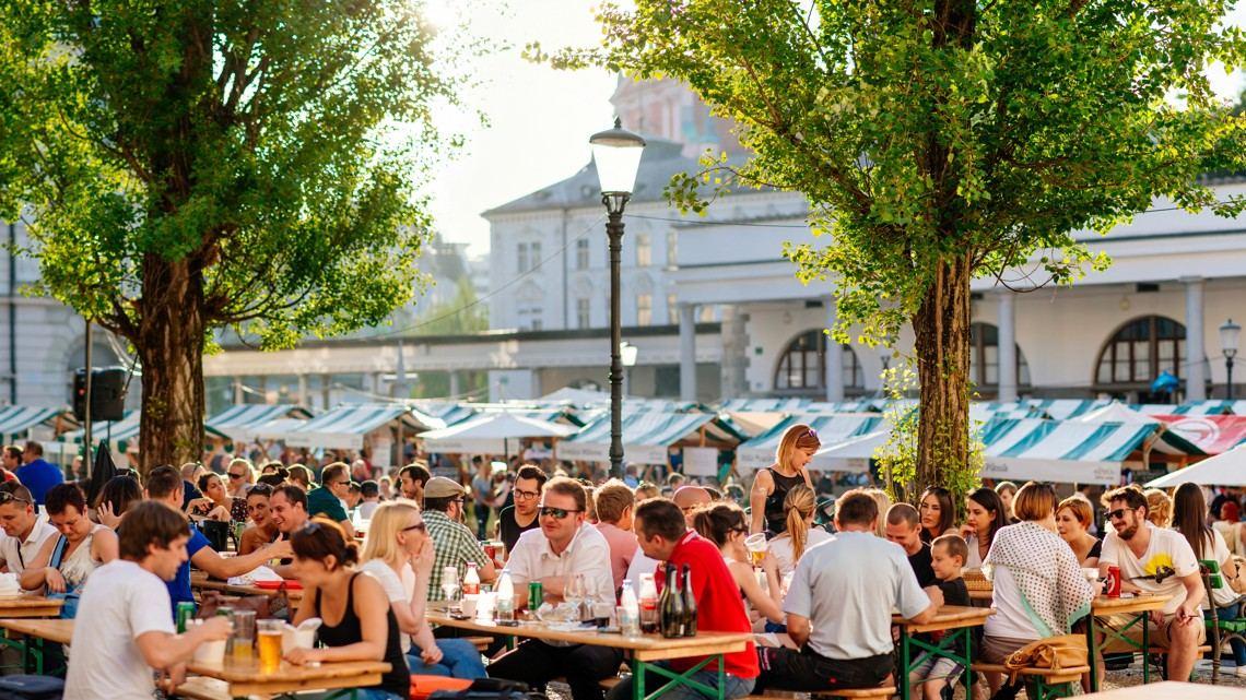 Lublaň, Slovinsko, Foto: VisitLjubljana