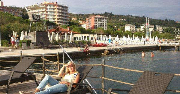 LifeClass Hotels & Spa, Portorož, Slovinsko. Foto: Karolína Hornová