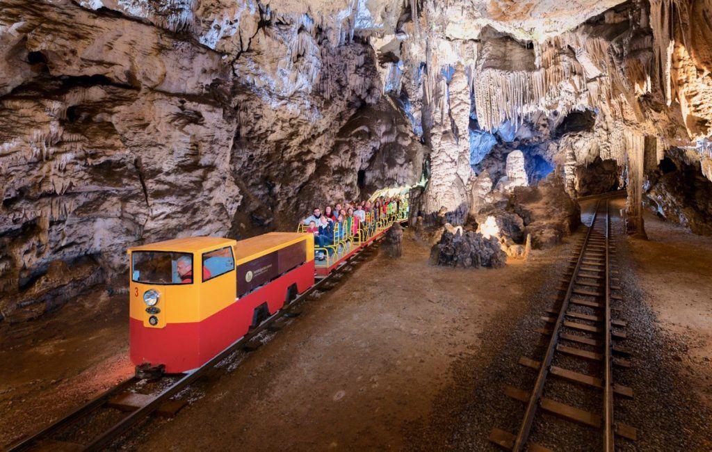 Jeskyně Postojna, Slovinsko, Foto: Postojnska jama
